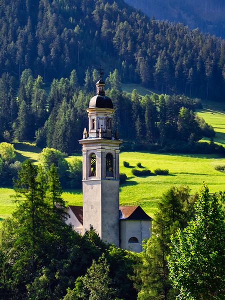 Countryside Bell Tower - Switzerland