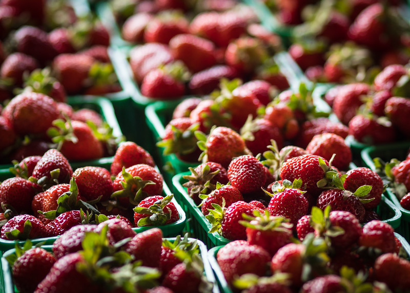 Ontario Strawberries - Toronto, Canada
