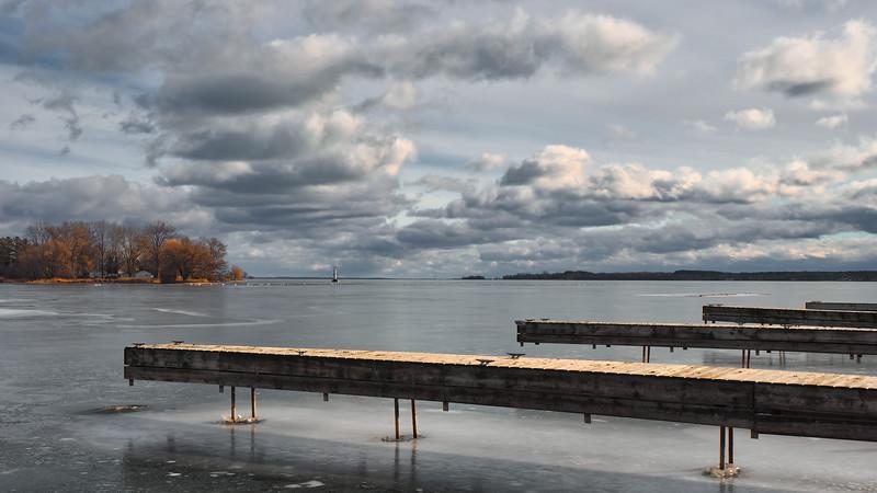 Frozen Over - near Brighton, Ontario CANADA