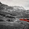 'Bernina Express' - south of Chur, Switzerland