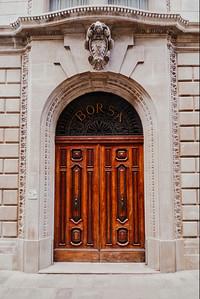 Ornate Door - Venice, Italy