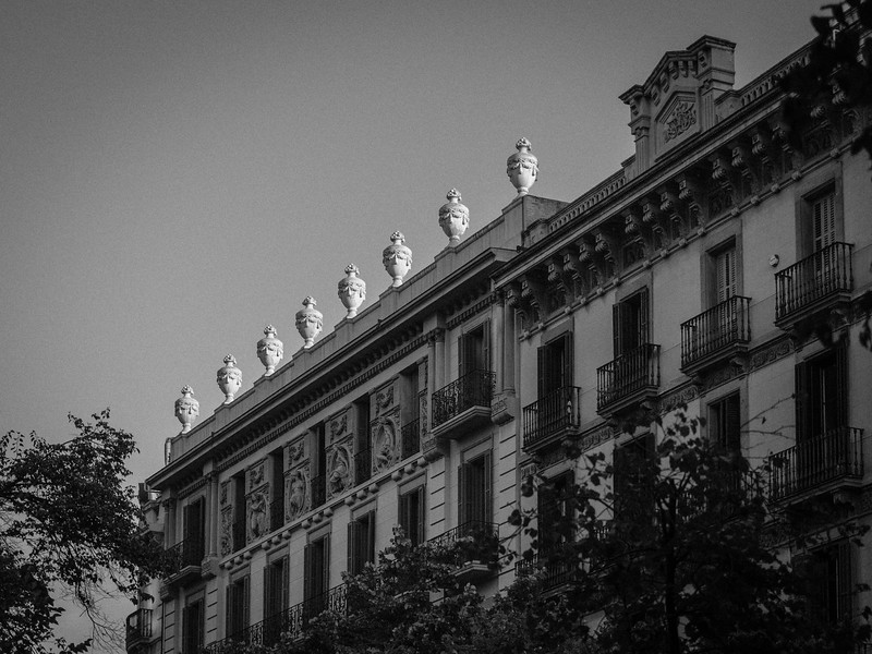 Gorgeous Roof Line - Barcelona, Spain
