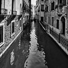 'Monochrome Canal' - Venice, Italy