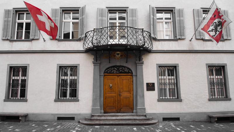 Important Door - Chur, Switzerland