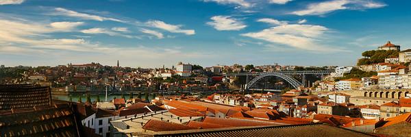 View Across the Douro - Taylor Fladgate Port Winery - Vila Nova de Gaia, Portugal