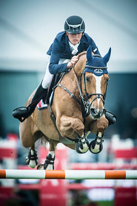 France, Chantilly : Scott Brash riding Hello Annie  during the Longines Global Champions Tour , Master Airbus Group - Equidia on May 29th , 2016, in Chantilly, France - Photo Christophe Bricot