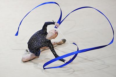 MAZUR VIKTORIA (UKR) RUBAN  Internationaux de GRS de Thiais - 27 et 28 Mars 2010 Gymnastique Rythmique et sportive © Christophe Bricot