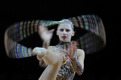 WEBER CAROLINE (AUT) CERCEAU  Internationaux de GRS de Thiais - 27 et 28 Mars 2010 Gymnastique Rythmique et sportive © Christophe Bricot
