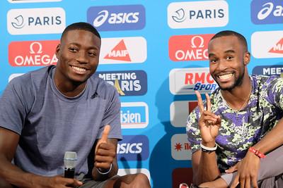 ATHLETICS - IAAF DIAMOND LEAGUE - PARIS 2019