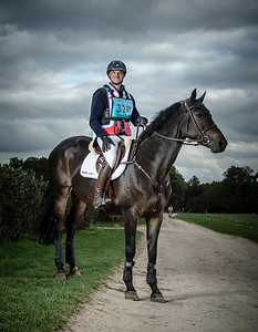 France, Chantilly : Karim Laghouag (CCE)  - Shotting in Apremont for Horsealot - PoloClub of Chantilly , France. Sunday - 19/10/14 - Photo Christophe Bricot