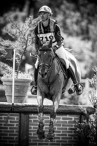 France, Marnes-la-Coquette : LAGHOUAG Karim Florent riding TRITON FONTAINE during the CCI4*-S-FFE competition of the Jardy Eventing Show 2020, July 11th, at Haras de Jardy,  Photo Christophe Bricot.