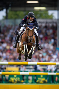 Germany, Aachen : Guillaume FOUTRIER (FRA) riding VALDOCCO DES CAPS during the CHIO of Aachen, on July 18th , 2019, in Aachen, Germany - Photo Christophe Bricot