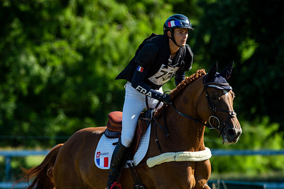 France, Marnes-la-Coquette : SANS Romain riding UNETOILE DE LA SERRE during the CCI4*-S-FFE competition of the Jardy Eventing Show 2020, July 11th, at Haras de Jardy,  Photo Christophe Bricot.