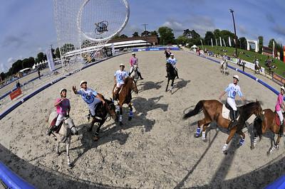 HORSEBALL : EQUIVASION - LE BLANC 2  CHAMPIONNATS DE FRANCE 2011 - HARAS DE JARDY - © CHRISTOPHE BRICOT