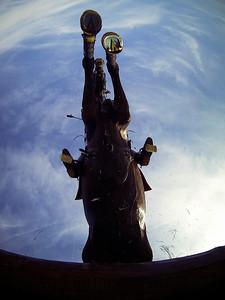 PHOTO © CHRISTOPHE BRICOT -  Alexandre ARHUIS GRUMBACH sur ROIFERRO DU MAUPAS  during the cross country Grand National de Jardy.