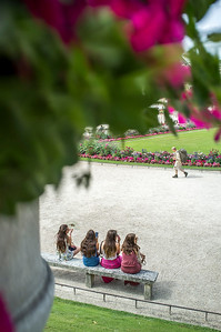 France, Paris : Luxembourg Garden, during one balade in August 1th , 2016, in Paris, France - Photo Christophe Bricot.