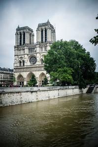 France, Paris : Flood of the Seine on June 4th , 2016, in Paris, France - Photo Christophe Bricot