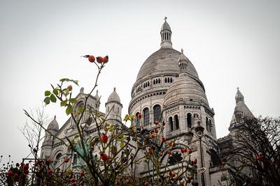 France, Paris : balade butte Montmartre, hiver , le 22 janvier 2019 - Photo Christophe Bricot