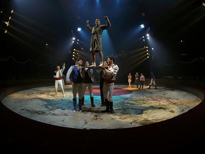 France, Bois de Boulogne : Silvia , nouveau spectacle au Cirque National Alexis Gruss - 40eme création - hommage à Silvia Monfort  - Photo Christophe Bricot