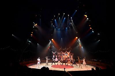 France, Bois de Boulogne : Silvia , nouveau spectacle au Cirque National Alexis Gruss - 40eme création - hommage à Silvia Monfort - PARADE, PRESENTATION - Photo Christophe Bricot