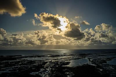 Ile de Ré, Ars en Ré, bords de mer entre Le Gillieux et le phare des baleines