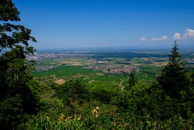 France, Les Trois Châteaux d'Eguisheim, les Vosges, Photo Christophe Bricot.