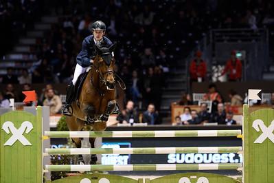 """during the """"Prix Foire Internationale de Bordeaux"""" class, International Show Jumping of Bordeaux,"""