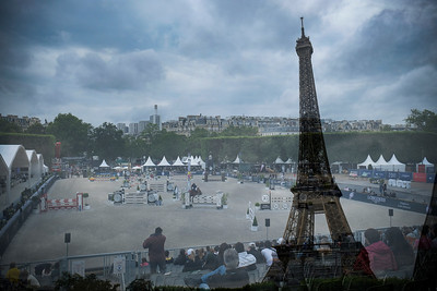 , Le Figaroscope Prize during the Longines Paris Eiffel Jumping 2021, Longines Global Champions Tour Equestrian CSI 5 on June 26, 2021 at Champ de Mars in Paris, France - Photo Christophe Bricot / DPPI