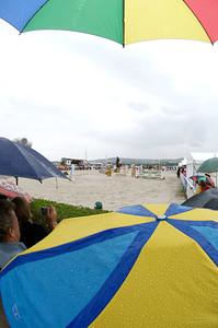 Illustration - terrain sable pour cause de pluie  CSI*** de Deauville 2007  © CHRISTOPHE BRICOT