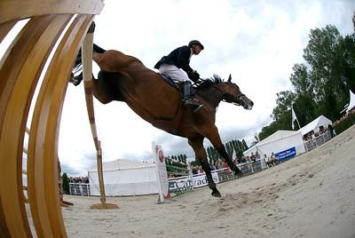 MATHIJS VAN ASTEN (NED) SUR CASTELLA Remportent le Grand Prix 2007  CSI*** de Deauville 2007 GRAND PRIX © Christophe Bricot