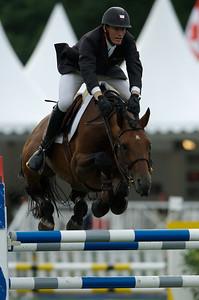 JUMPING NATIONAL DE FRANCONVILLE 2007.  KEVIN STAUT SUR KRAQUE BOOM BOIS MARGOT  © CHRISTOPHE BRICOT