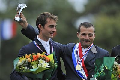 PODIUM (DGÀD) : DELMOTTE (2) - LAFOUGE (1)  Championnats de France 2008 PRO ELITE  © Christophe Bricot