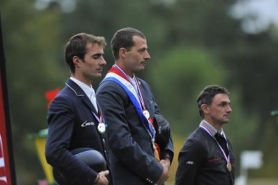 DELMOTTE - LAFOUGE - HUREL PODIUM  Championnats de France 2008 PRO ELITE  © Christophe Bricot