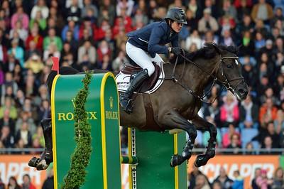 JUMPING : KATRIN ECKERMANN SUR OLIVIA LA SWEET   - CHIO AACHEN - AIX LA CHAPELLE  2013 - ALLEMAGNE - 27-30 JUIN 2013 - PHOTO CHRISTOPHE BRICOT