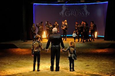 France, Bois de Boulogne : Silvia , nouveau spectacle au Cirque National Alexis Gruss - 40eme création - hommage à Silvia Monfort  - ALEXIS GRUSS - Photo Christophe Bricot