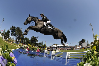 JUMPING : Scott BRASH sur Intertoy Z GRAND PRIX DE LA VILLE DE LA BAULE -  CSIO DE LA BAULE 2012 - PHOTO : © CHRISTOPHE BRICOT