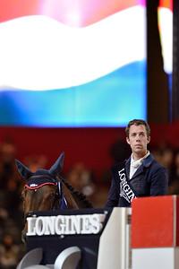 France, Lyon :  Maikel VAN DER VLEUTEN (NED) riding on VDL GROEP VERDI  during the Longines Grand Prix 2013  - LONGINES FEI WORLD CUP™- Equita Lyon 2013 - Photo Christophe Bricot