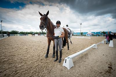 JESSICA MICHEL SUR RIWERA DE HUS Championnat d'Europe 2013 - HERNING , Danemark - 20/08/13 - PHOTO CHRISTOPHE BRICOT - www.bricotchristophe.com