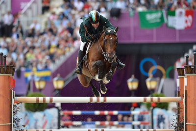 EQUITATION - 348 O'CONNOR Cian sur BLUE LOYD 12 FINALE INDIVIDUELLE JUMPING - JEUX OLYMPIQUES DE LONDRES 2012 - OLYMPICS GAMES IN LONDON -  PHOTO : © CHRISTOPHE BRICOT