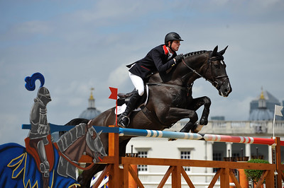 EQUITATION - 340 MAHER Ben sur TRIPPLE X FINALE INDIVIDUELLE JUMPING - JEUX OLYMPIQUES DE LONDRES 2012 - OLYMPICS GAMES IN LONDON -  PHOTO : © CHRISTOPHE BRICOT