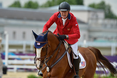 EQUITATION - 386 FELLERS Rich sur FLEXIBLE FINALE INDIVIDUELLE JUMPING - JEUX OLYMPIQUES DE LONDRES 2012 - OLYMPICS GAMES IN LONDON -  PHOTO : © CHRISTOPHE BRICOT