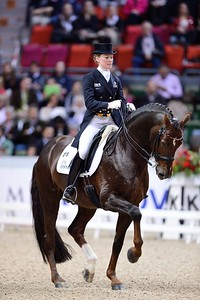 DRESSAGE, REEM ACRA FEI WORLD CUP™ DRESSAGE FINAL :  DAMON HILL NRW – HELEN LANGEHANENBERG  - GÖTEBORG - SUEDE, SWEDEN - GOTHENBURG HORSE SHOW - ROLEX FEI WORLD CUP™ FINAL - AND - REEM ACRA FEI WORLD CUP™ FINAL DRESSAGE - 24/28 AVRIL 2013 - PHOTO © CHRISTOPHE BRICOT