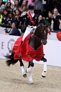 DRESSAGE, REEM ACRA FEI WORLD CUP™ DRESSAGE FINAL :  DAMON HILL NRW – HELEN LANGEHANENBERG REMPORTENT LA COUPE DU MON DE DRESSAGE 2013   - GÖTEBORG - SUEDE, SWEDEN - GOTHENBURG HORSE SHOW - ROLEX FEI WORLD CUP™ FINAL - AND - REEM ACRA FEI WORLD CUP™ FINAL DRESSAGE - 24/28 AVRIL 2013 - PHOTO © CHRISTOPHE BRICOT