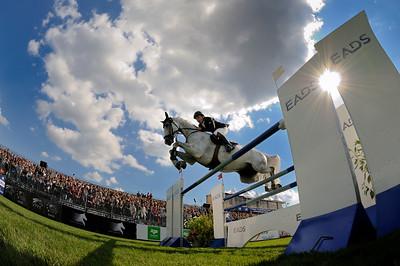 JUMPING : FRANCESCO FRANCO SUR LOXLEY 73 - GRAND PRIX EQUIDIA - CSI5* DE CHANTILLY  2011 - JUMPING INTERNATIONNAL - CONCOURS DE SAUT D'OBSTALES - ET EPREUVE DU GLOBAL CHAMPIONS TOUR 2011 - 22-23-24 JUILLET 2011 - © CHRISTOPHE BRICOT