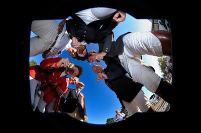 EQUIPE BELGE - BELGIUM TEAM jumping (Nom du Cheval - Nom du cavalier) Championnat d'Europe de Concours Complet 2009 HSBC FEI Championnat d'Europe Eventing European Championnships  Fontainebleau - 23 au 27 septembre 2009 © Christophe Bricot
