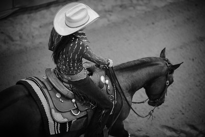 France, Chassieu :  Coline Davault riding Emy Cowgirls Whiz during the reining International Competition of Equita Lyon, on October 29th , 2016, in Chassieu, France - Photo Christophe Bricot