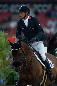 JUMPING : AYMERIC DE PONNAT, ARMITAGES BOY - COMPETITION PAR EQUIPE,  Championnat d'Europe 2013 - HERNING , Danemark - 22/08/13 - PHOTO CHRISTOPHE BRICOT - www.bricotchristophe.com