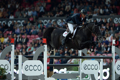 JUMPING : WILLIAM FUNNELL, BILLY CONGO - COMPETITION PAR EQUIPE,  Championnat d'Europe 2013 - HERNING , Danemark - 22/08/13 - PHOTO CHRISTOPHE BRICOT - www.bricotchristophe.com