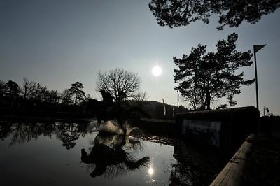 CONCOURS COMPLET :  DONATIEN SCHAULY MCH SUR PIVOINE DES TOUCHES CIC03* FONTAINEBLEAU - FRANCE - 24 MARS 2012 - PARIS - PHOTO : © CHRISTOPHE BRICOT