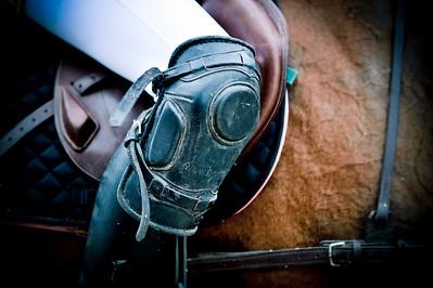 HORSEBALL : PROTECTION, GENOU, JAMBES, GENOUILLERE -  CHAMPIONNATS DE FRANCE HORSE BALL 2013 - HARAS DE JARDY, MARNE LA COQUETTE, France. (Photo Christophe Bricot)